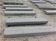Lowest Price Grey Granite Steps Polished G341 Granite Step Risers Cheap Grey Granite Stairs Treads Customer Sizes G341 Slabs Flooring Pavement Stone China Shandong G341 Granite