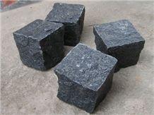 Machine Cut Dark Grey Paving Stone,G654 Grey Granite Stone Paving Small Cube Stone Dark Grey Color Hot Sale G654 Walkway Pavements Natural Grey G654 Driveway Covering