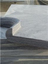 Pure Natural Grey Marble Swimming Pool Edge Cloud Grey Marble Swimming Pool Coping Price for Quote Polished Dark Cloud Grey Marble Outdoor Swimming Pool Stair Riser
