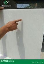 Shandong White Laizhou Marble Tiles & Slabs Glacier White Marble Wall Covering Tiles Laizhou Snow Flake White Marble Floor Covering Tiles Wintermint White Marble Pattern Snow White Marble Skirting