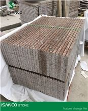 Very Cheap Price G562 Granite Light Color Stair Treads & Stair Riser Maple Red Granite Staircase G562 Granite Step Red Granite Deck Stair G562 Red Granite Light Color