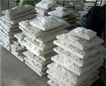 White Sandstone Mushroom Stone, Floor & Wall Tiles, Wall Covering,Sandstone Flooring, Wall & Floor Covering,Natural Sandstone Tiles Cut to Size,Sandtone Mushroom Stone for Wall Cladding