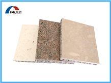 Sahara Beige Granite Veneer Aluminum Honeycomb Sandwich Panel