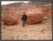 Red Jasper Marble Blocks