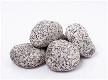 Granite Decorative Gravel, Salt and Pepper Around Tumbled Natural Stone Granite