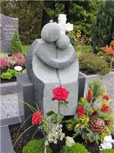 Granite Sculptured Gravestone