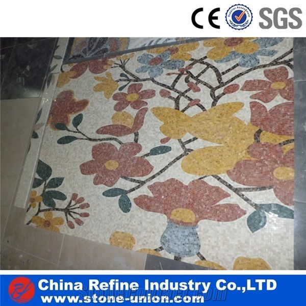 Marble Mosaic Tile Art Pattern