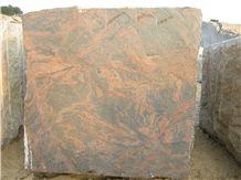 Red Multi Colour Granite Blocks India