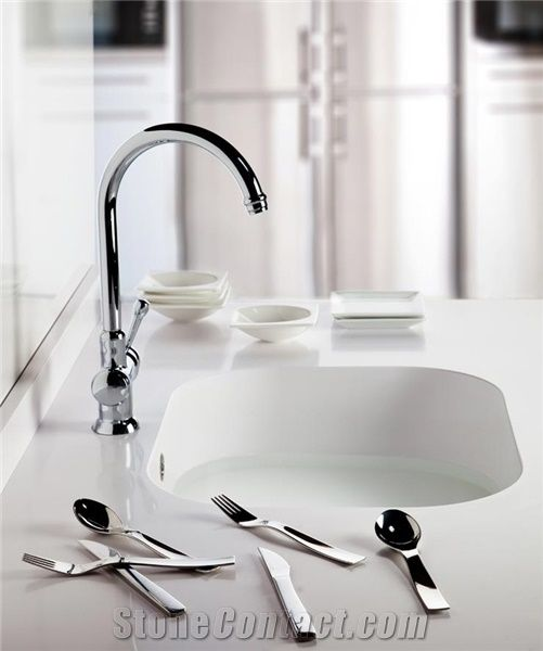 One Piece Bathroom Sink And Countertop From China Stonecontact Com