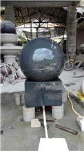 Black Granite Rolling Ball,Black Granite Fountain Rolling Ball