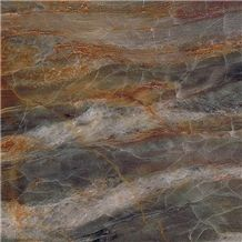 Fantasy Red Dragon Blue Marble Xingeli Slabs High Polished Marble Tiles / Marble Slabs for Interior Stone Flooring Covering / Xingeli
