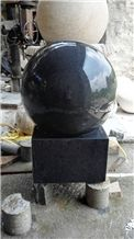 G654 Grey Granite Floating Ball Fountian for Garden Rolling Ball Fountain
