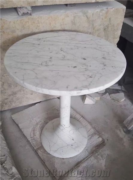White Marble Table Tops And Base Outdoor U0026 Garden Tables