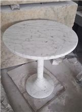 White Marble Table Tops and Base Outdoor & Garden Tables