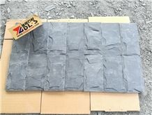 Factory Owner China Black Slate Tiles Split Surface, Natural Surface Black Slate