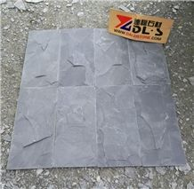 Good Quality Cheap Price Black Slate Tiles Split Surface for Wall Decoration