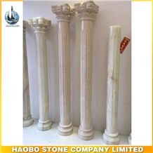 Beautiful Stone Marble Roman Column for Sale