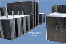Virginia Mist granite tiles & slabs, black granite floor covering tiles, walling tiles