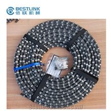 Diamond Wire Saw Machines Accessories Diamond Rope for Quarrying Stone