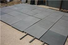 Chinese Light Grey Basalt Slabs & Tiles, China Grey Basalt