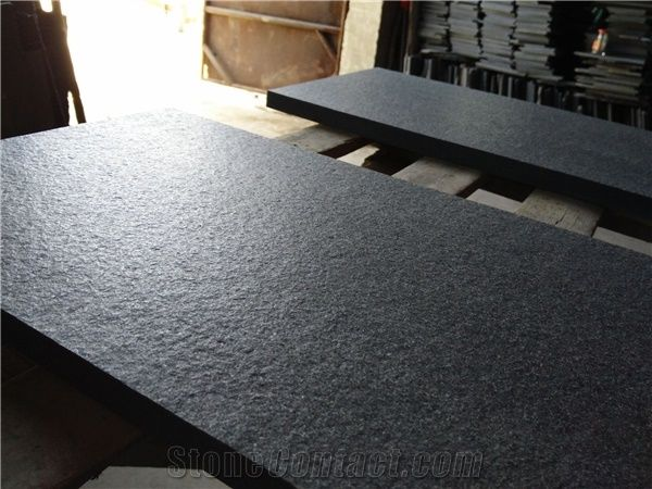 Chinese Shanxi Black Granite Slabs Nero Assoluto China