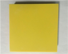 Pure Yellow Quartz Slabs/ Quartz Stone