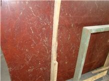Rosso Ducale Marble Slabs & Tiles, Turkey Red Marble