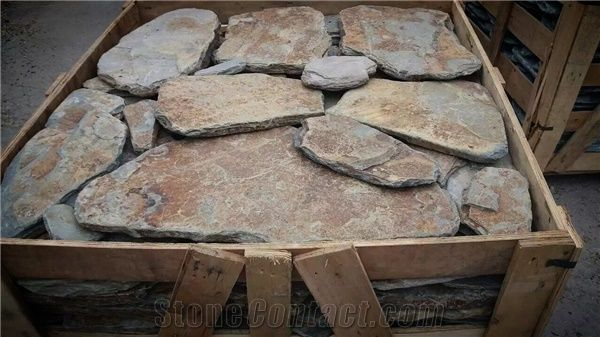 Rusty Slate Outdoor Flagstone Garden Walkway Pavers From China
