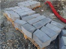 Prievidza Andesite Blocks, Slovakia Grey Andesite