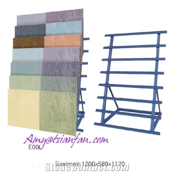 China Retail Stores Simple Ceramics Flooring Tile Display Rack - Floor tile retail stores
