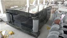 Shanxi Black Granite Mausoleum & Columbarium, Cemetery Crypts