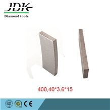 400mm Diamond Segment for Indonesia Lava Marble and Sandstone Cutting