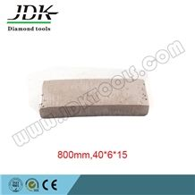 800mm Diamond Segment for Indonesia Sandstone Marble and Lava Cutting