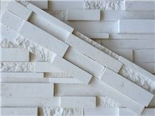 Chinese Factory Pure White Marble Stone Wall Decor
