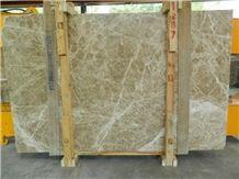 Emperador Light Marble Slabs & Tiles, Brown Polished Marble Floor Covering Tiles