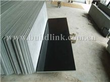 Absolutely Black Granite Wall and Floor Covering Tiles & Slab,Skirting,Nero Assoluto China Black Granite Slabs,Supreme Shanxi Black Granite,Grade-A,Good Quality