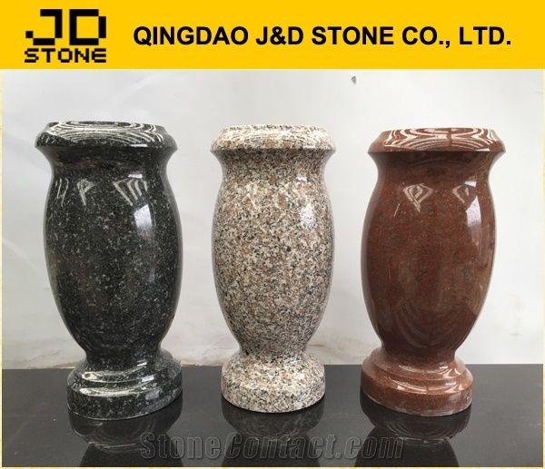 Granite Vase For Cemetery Granite Monument Vases Flower Holders