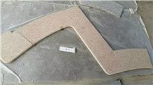 G350 Shaped Granite Swimming Pool Coping Corner Bullnose Edge Competitive Prices