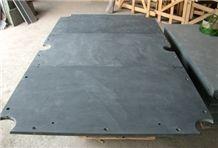 Natural Black Slate Big Slabs Tennis Table Slate Slabs