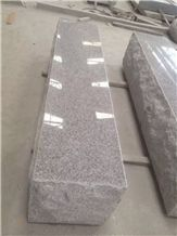 Sd G603 Silver Grey Granite Parks Sitting Stone Polished Top Sides Cleft