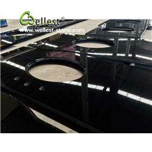 Absolute Black Granite Counter Top,Absolute Black Kitchen Island Tops,Absolute Black Kitchen Worktop,Kitchen Desk Top,Kitchen Countertops,Custom Countertops