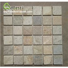 Wholesale High Quality Slate Kitchen Backsplash Mosaic