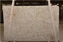 Giallo Rio Granite Slabs, Brazil Yellow Granite