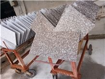 China Red Granite G664 Tile, Luo Yuan Red