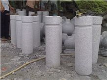 Granite Parking Stone,G603 Granite Car Parking Stone, Grey Garden Stone/ Parking Curbs for Landscaping Stone