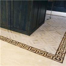 Customized Marble Flooring Design/Marble Floor Design Pictures/Marble Flooring Border Designs