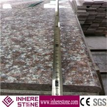 Hot Sale G687 Granite Flooring Tiles, G3567, Peach Blossom Red Granite Wall Tiles