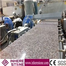 Peach Blossom Red Granite Slabs Polished, G687 Granite Wall Floor Tiles, G3567 Granite