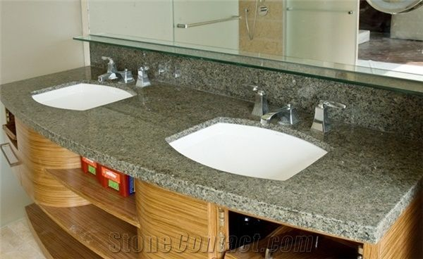 China G623 Granite Bathroom Vanity Tops