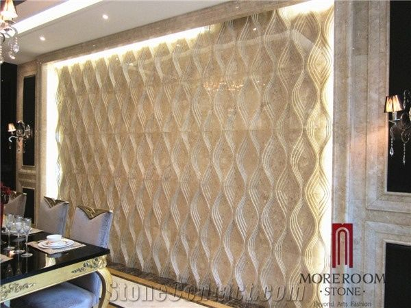 Turkish Cappuccino 3d Wall Panel Home Decoration Wall
